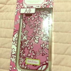 Lilly Pulitzer Alpha Phi iPhone Case